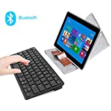 Rii BT09 Ultra Slim Portable Wireless Bluetooth Keyboard For Windows Devices ipad Mini iphone MacBook Pro Tablets PC Android Tablets Samsung Smart TV