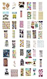 Jolee's Boutique Decorative Sticker Packages - Assortment of Stickers (96 Pack)
