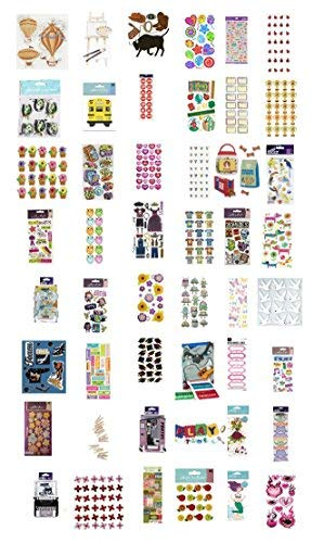 Jolee's Boutique Decorative Sticker Packages - Assortment of Stickers (96 Pack) from Jolees, Jolees Boutique, Sticko, K&Company