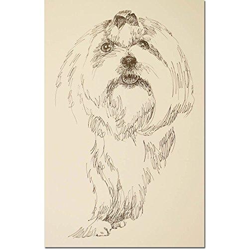 Kline Dog Lithograph - 1