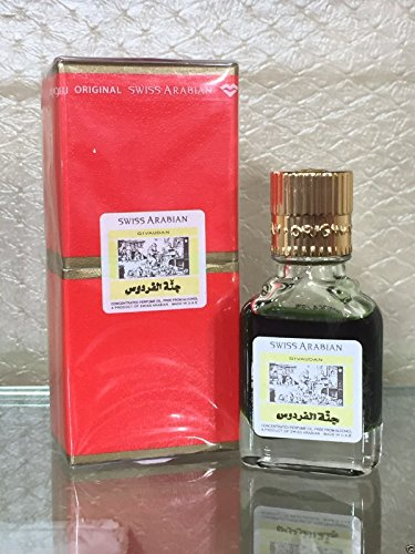 Swiss Arabian Givaudan Jannatul Firdous Concentrated Perfume Attar 9 ML Free From Alcohol by SWISSARABIAN