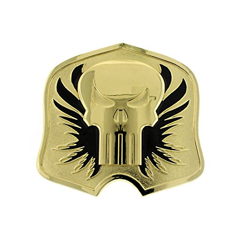 (Punisher Gold-Tone / Black Belt Buckle Officially Licensed by MARVEL + Comic Con Exclusive )
