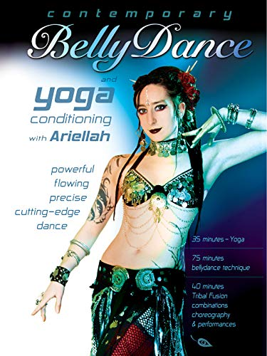 Contemporary Belly Dance and Yoga, with Ariellah: Tribal fusion bellydance classes, Belly dance fitness, workout, and yoga instruction, Beginner-intermediate (Yoga Dance Video)