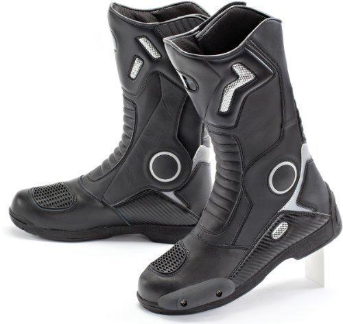 Joe Rocket Ballistic Touring Men's Boots (Black, Size 12) by Joe Rocket