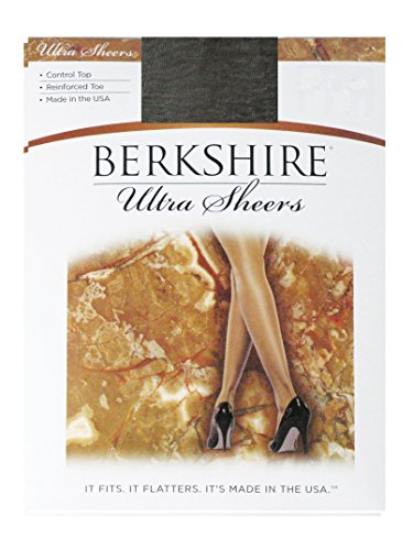 Berkshire Ultra Sheers Control Top Pantyhose, 2, Fantasy Black