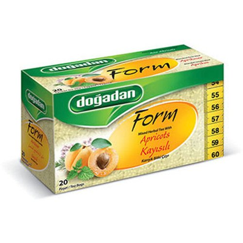 Dogadan Premium Form Mixed Herbal Tea with Apricots(1 box / 20teabags)