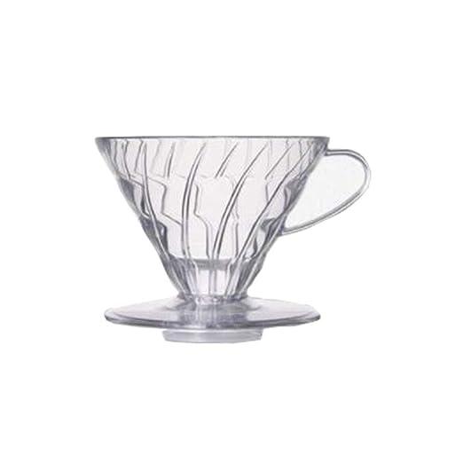 Filtro de café, filtro de mano taza de resina a prueba de calor ...