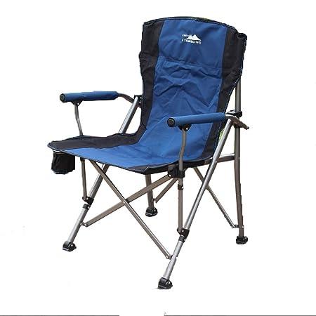 sedie campeggio pieghevoli con manici pieghevoli