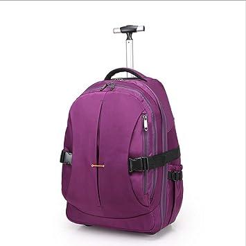 Mochila con ruedas, maleta de cabina de negocios de la escuela bolsa de rodillos y