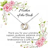 OnePurpose Mother of the Bride/Groom Gifts (Gold/Silver Bride)