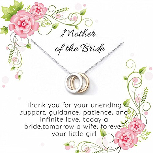 OnePurpose Mother of the Bride/Groom Gifts (Gold/Silver Bride) by OnePurposeGifts