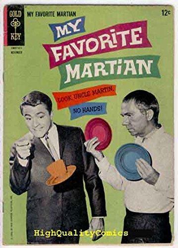 Bixby Key (MY FAVORITE MARTIAN #6, Gold Key, Photo cv, Bill Bixby, Walston)