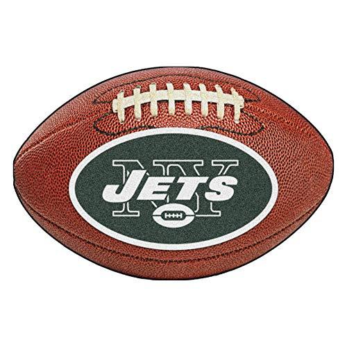 - FANMATS NFL New York Jets Nylon Face Football Rug