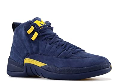 94afd34355fd1b Image Unavailable. Image not available for. Color  Air Jordan 12 RTR  Michigan Nrg   ...