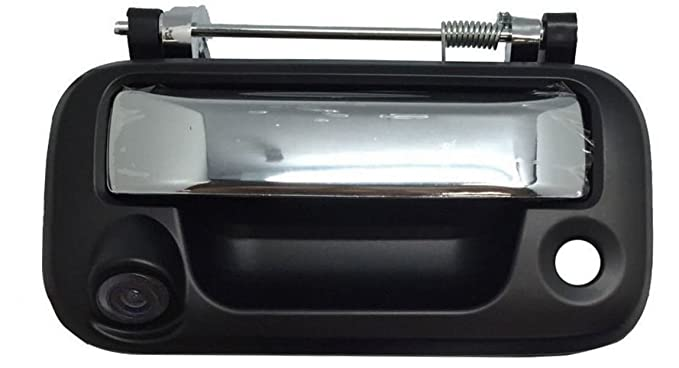 Pyvideo Backup Camera Tailgate Handle Ford F150 F250 F350 F450 Universal Monitors Rca Color Black Chrome Handle