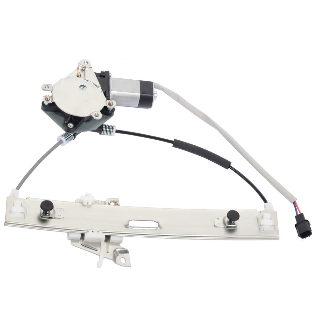 cciyu Power Window Regulator with Motor Assembly Rear Right Passenger Side Replacement fit for 2008-2012 Ford Escape 2008-2011 Mercury Mariner 8L8Z 7827000-A 751-713