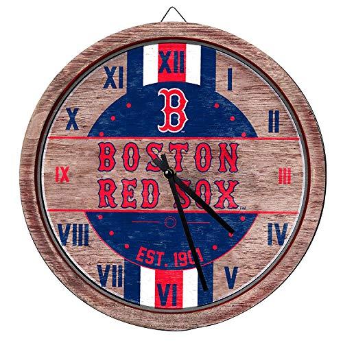 MLB Chicago Cubs Unisex Barrel Wall CLOCKBARREL Wall Clock, Team Color, One Size