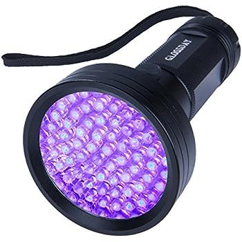 Amazon Com Oxyled Uv Flashlight Black Light 51 Led Ultraviolet