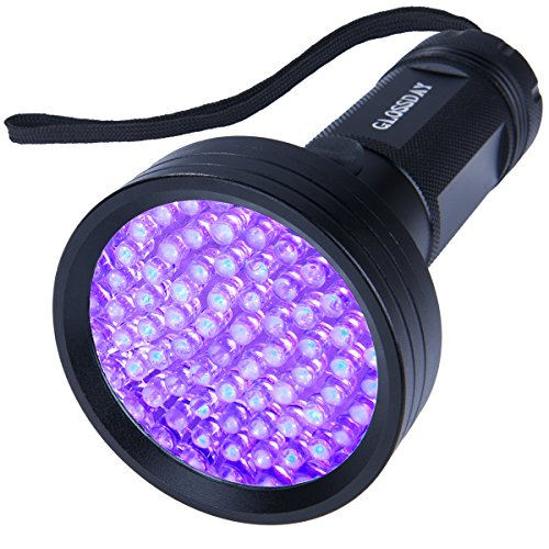 - Blacklight Flashlight 68 LED UV Flashlight,Ultraviolet Flashlight Black Light Professional Pet Urine Detector For Dog/Cat Urine,Pet Stains,Bed Bugs,Hunting Scorpions