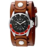 Nemesis Men's 037BBR Classy Classic Series Analog Display Japanese Quartz Brown Watch