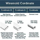 Legrand - Wiremold C210S Cord Cover Kit, White