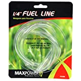 Maxpower 334288 1/4-Inch x 2-Foot Clear Fuel Line