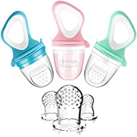 3-Pack MICHEF Baby Fresh Fruit Feeder Pacifier