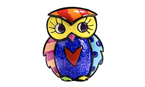 ROMERO BRITTO OWL FIGURINES ** CHOOSE ONE OR MORE ITEMS ***
