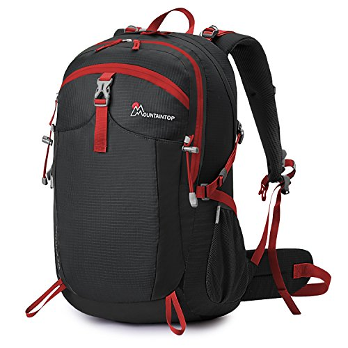 Mountaintop Unisex Hiking Camping Backpack