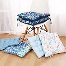 Bazaar 42x42cm Square Thickening Seat Chair Pad Cushion Elegant Cotton Car Mat Home Cusions Home Decor