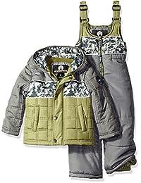"Weatherproof Little Boys' Toddler ""Camo Panel"" 2-Piece Snowsuit"