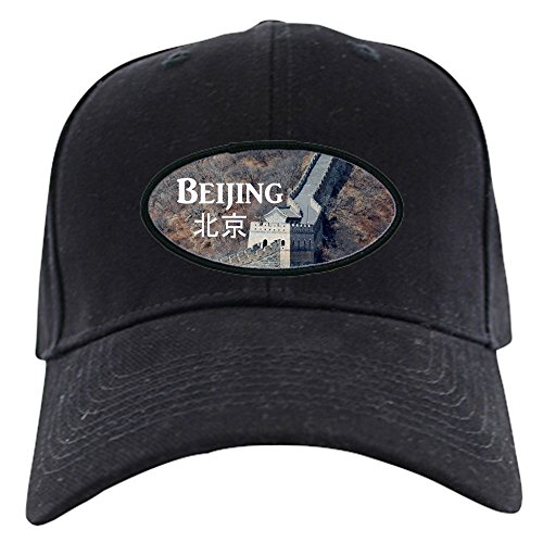 CafePress - Beijing Black Cap - Baseball Hat, Novelty Black Cap
