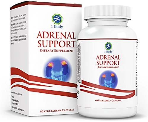 Adrenal Support - Cortisol Manager - A complex formula containing Vitamin B12, B5, B6, Magnesium, Ginger Root Extract, Ashwagandha, Schizandra Berry, Licorice & more - 30 Day Supply (Vegetarian)
