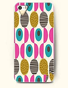 THYde Magenta Black Teal Circles And Semi-Circles -- OOFIT Case for Apple iPhone 6 plus 5.5 Case - Geometric Pattern ending