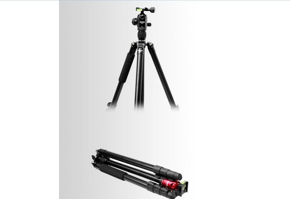 HORUSBENNU DSLR Camera Monopod Tripod Ball Head FX-34DL Black with Dovetail Plate