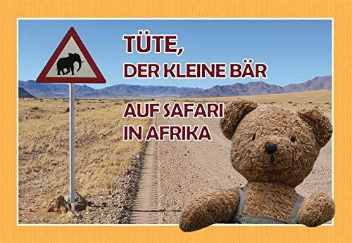 Tüte Der Kleine Bär Auf Safari In Afrika