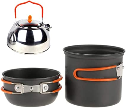 Utensilios de Cocina de Camping kit Equipo de cocina plegable ...