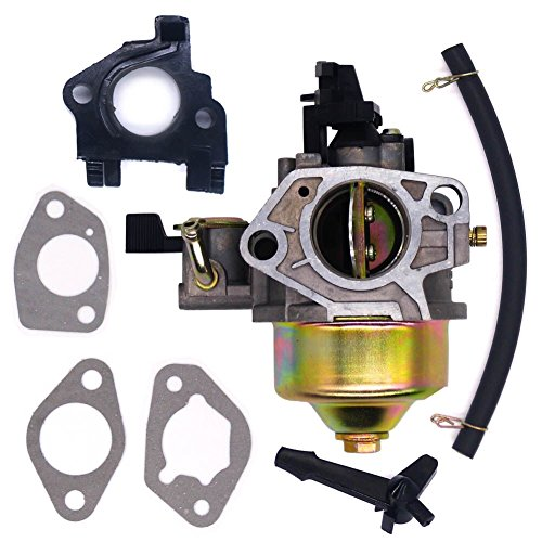 Gasket Carburetor Insulator Honda (FitBest Carburetor with Insulator Gaskets for Honda 13hp GX390 GX340 Engines)