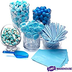 Blue Candy Kit - Party Candy Buffet Table Decor