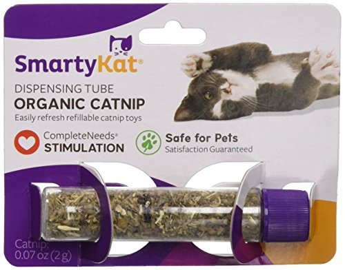 SmartyKat Organic Catnip Tube .07 oz (2g) 0.07 Ounce Tube