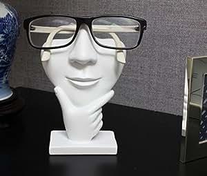 Amazon.com: JewelryNanny Artsy Face Eyeglass Holder Stand