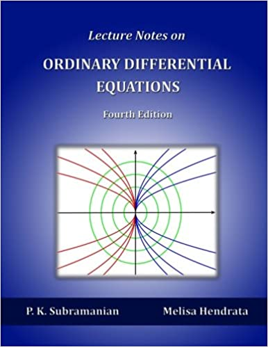 Book Lecture Notes on Ordinary Differential Equations