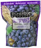 Stoneridge Orchards Whole Dried Blueberries, 14-Ounce Pouches (Pack of 2)