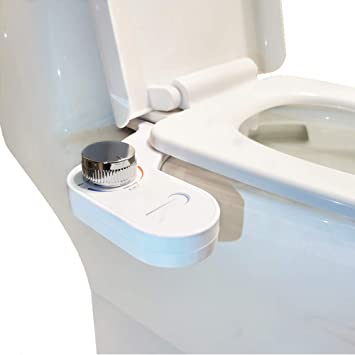 Bidet For Toilet Toilet Sprayer Bidet Toilet Seat Bio Bidet Attachment Padded Toilet Seat Toilet Jet Spray Toilet Water Spray Attachment Non Electric Mechanical White Amazon Com