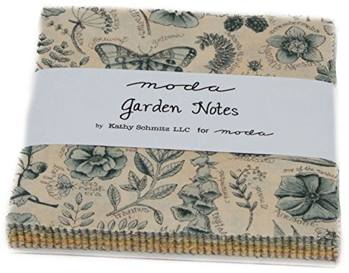 Garden Notes Charm Pack By Kathy Schmitz; 42 - 5