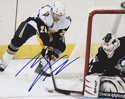 TOMAS VANEK Signed BUFFALO SABRES 8X10 PHOTO - Autographed NHL Photos (Buffalo Signed Nhl Photo Sabres)