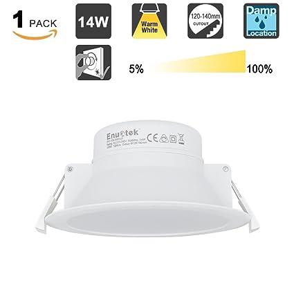 Lampara Foco de Empotrable Plafon de Techo Downlight LED 14W ...