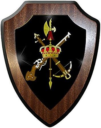 ALFASHIRT Emblema de la Legión Española español Bandera de Insignias legión extranjera España Fuerzas Armadas Recuerdos – Escutcheon/para la Pared: Amazon.es: Hogar