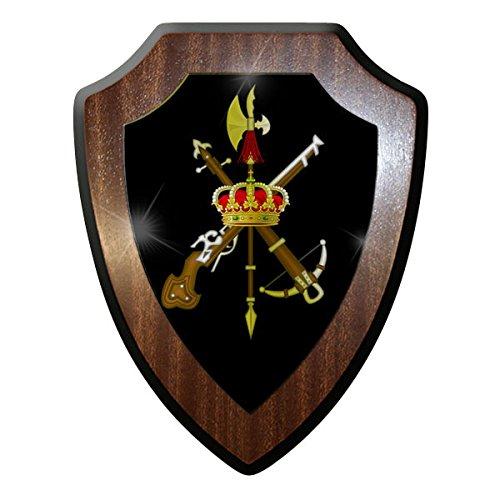 ALFASHIRT Legión Española Español Bandera de Emblema Badges Legión Extranjera España Fuerzas Armadas...