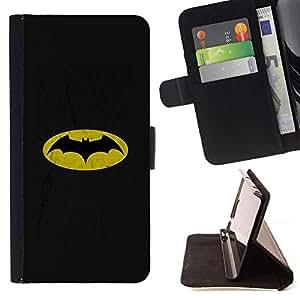 Momo Phone Case / Flip Funda de Cuero Case Cover - CLÁSICO BAT SUPERHERO - LG G4